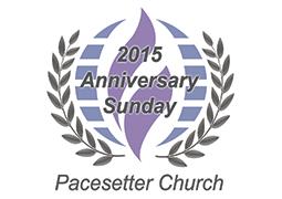 Anniversary Sunday Pacesetter 2015