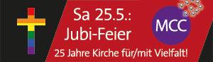 25.5.: Jubi-Feier 25 Jahre MCC Köln