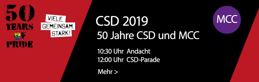 50 Jahre CSD und MCC