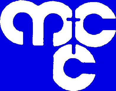 Logo der MCC Köln: die Buchstaben MCC in weiß
